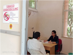 Tobacco cessation clinic